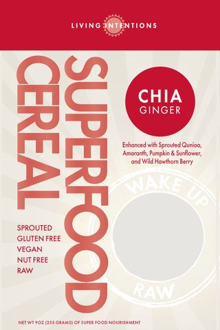 Living Intentions - Chia Ginger Cereal