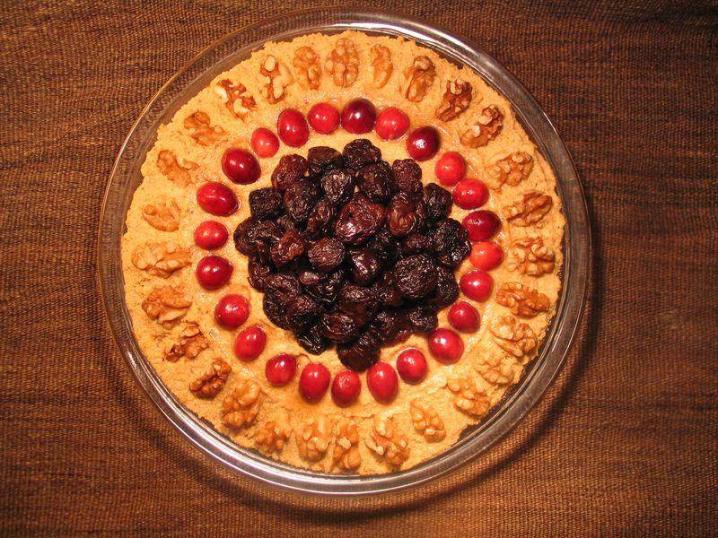 Nili's pumpkin pie